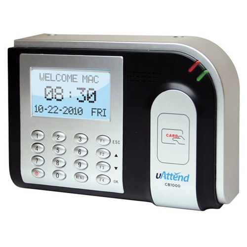 Uattend Cb1000 Pin Proximity Hosted Automated Attendance