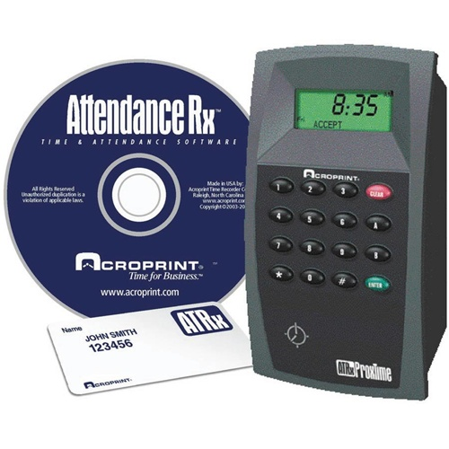 ACR ATRx ProxTime proximity attendance system – for 50 employees