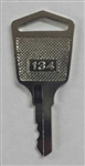 Single Key for Compumatic TR440/TR880 time clocks
