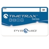 Pyramid swipe card badges 601 through 700