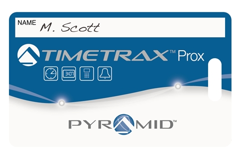 pyramid electronic timecard 15 proximity badges - Electronic Time Card