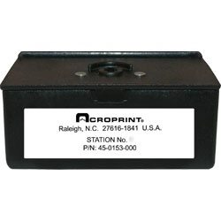 Acroprint Station Box with Key