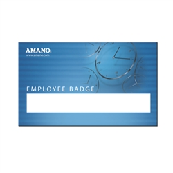 amano mag stripe and bar code badges (1 to 25)