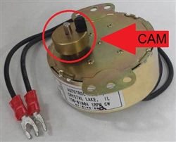 ACR replacement Cam for Motor J606-1 for Time Clock Models 125 and 150