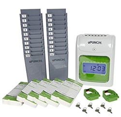 uPunch HN3000 electronic time clock Bundle