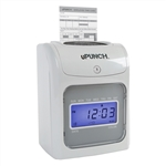 The uPunch HN4000 electronic calculating time clock
