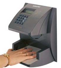 Amano HandPunch 1000E Expansion Terminal