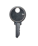 Acroprint E-Stamp keys (old-style metal case ONLY)