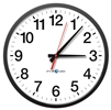 "13"" Pyramid Power Over Ethernet (POE) Analog Clock"