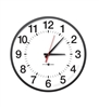 "17"" Pyramid Power Over Ethernet (POE) Analog Clock"