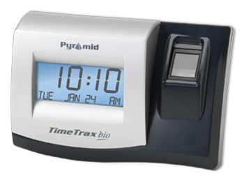 Pyramid TimeTrax Bio EK Complete Ethernet Biometric Attendance System (50  employees,upgradeable to 6000)