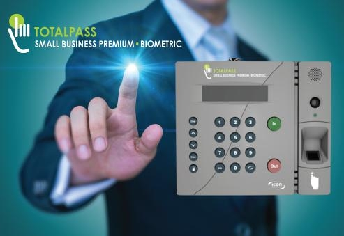Totalpass Premium Biometric Time Clock With 100 Employees