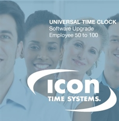 Icon Time from 50 to 100 Employee Software Upgrade