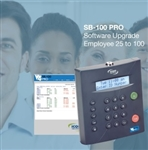 Icon Employee 25 to 100 software upgrade for SB-100 Only