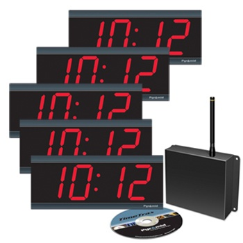 Pyramid Synchronized Clocks Digital Bundle