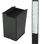 Expandable Time Card Rack (25 card capacity, fits cards up to 3.5 inches wide and at least 7 inches long)