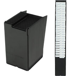 expandable time card rack 25 card capacity fits cards up to 35 inches wide and at least 7 inches long - Card Rack