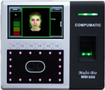 Multi-Bio MB1000 25 employee Face Recognition & Biometric time system