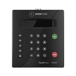 Icon TotalPass P600 Proximity Card 50 Employee Time Clock