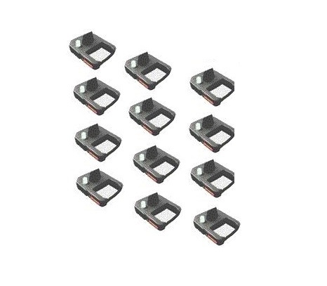 Black Cartridge Ribbons 12 Pack For Xl1000 Calculating