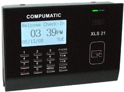XLS 21 proxcard time attendance system (25 employee, badges included)