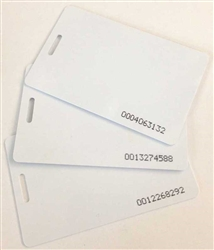 Proximity Badge Cards For XLS 21 Terminal (25 pack)