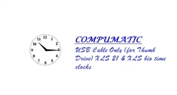 USB Cable Only (for Thumb Drive)  XLS 21 & XLS bio time clocks